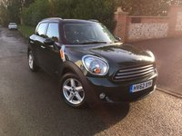 2012 MINI COUNTRYMAN 2.0 COOPER D ALL4 5d AUTO 110 BHP PLEASE CALL TO VIEW £SOLD