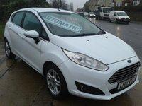 2013 FORD FIESTA 1.6 ZETEC 5d AUTO 104 BHP £6975.00
