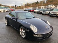 USED 2007 57 PORSCHE 911 3.8 CARRERA 2 S 2d 355 BHP Midnight Blue, Stone Grey leather, PCM Nav, BOSE, Sports Chrono Pack ++