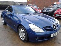 2005 MERCEDES-BENZ SLK 1.8 SLK200 KOMPRESSOR 2d AUTO 161 BHP £SOLD