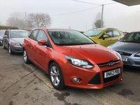 2012 FORD FOCUS 1.0 ZETEC 5d 124 BHP £6999.00