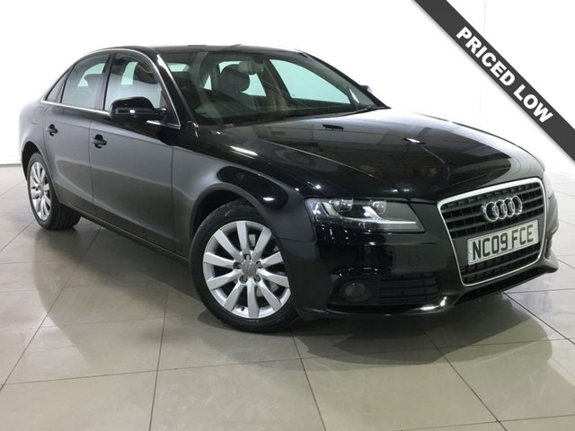 View our 2009 09 AUDI A4 2.0 TDI SE 4d 143 BHP