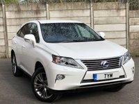 2015 LEXUS RX 3.5 450H LUXURY 5d AUTO 295 BHP £21995.00