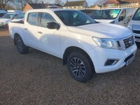 USED 2016 16 NISSAN NP300 NAVARA 2.3 DCI VISIA 4X4 SHR DCB 1d 160 BHP ONLY 29000 MILES * NEW SHAPE * AIR CONDITIONING *