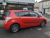 USED 2013 63 TOYOTA VERSO 2.0 ICON D-4D 5d 122 BHP