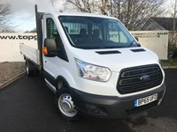 USED 2016 65 FORD TRANSIT 350 2.2 125BHP Dropside  DRW **70 Vans in Stock**