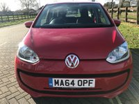 USED 2014 64 VOLKSWAGEN UP 1.0 MOVE UP 5d 59 BHP