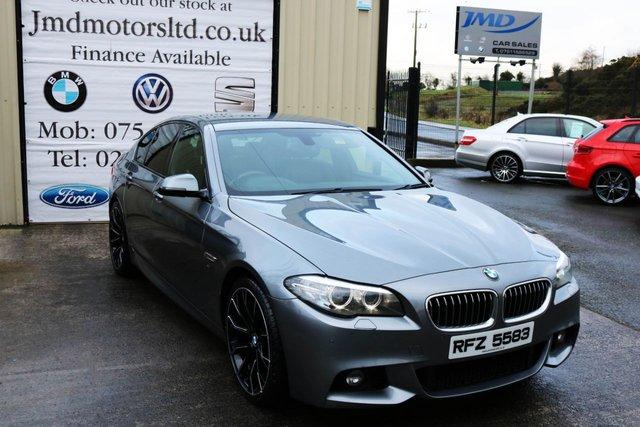 2014 BMW 5 SERIES 520D M SPORT AUTO LCI 181 BHP (FINANCE & WARRANTY)