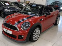 2012 MINI CONVERTIBLE 1.6 COOPER D 2d 112 BHP CHILLI PK, JCW ALLOYS+BODY KIT, FULL LEATHER  £7695.00