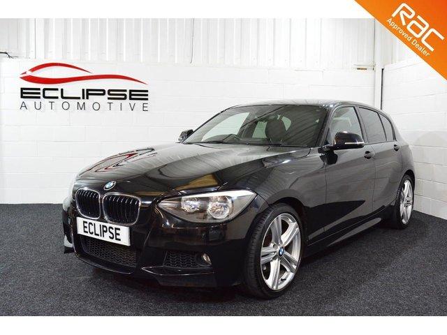 2013 63 BMW 1 SERIES 2.0 116D M SPORT 5d 114 BHP