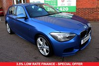 USED 2014 14 BMW 1 SERIES 2.0 116D M SPORT 5d 114 BHP +ONE OWNER +SERVICED +LOW TAX.