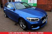 USED 2015 65 BMW 1 SERIES 1.5 116D M SPORT 3d 114 BHP +LOW TAX +FSH +1 OWNER.