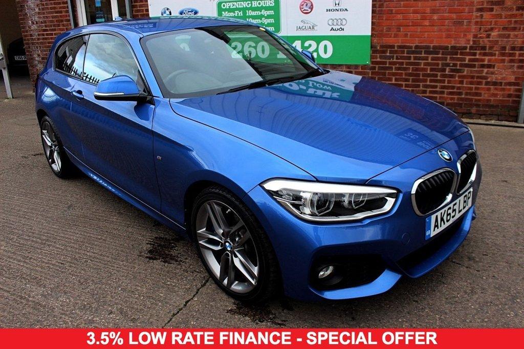 2015 65 BMW 1 SERIES 1.5 116D M SPORT 3d 114 BHP