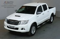 USED 2015 15 TOYOTA HI-LUX 3.0 INVINCIBLE 4X4 D-4D DCB AUTO 170 BHP PICK UP £13,490+VAT AIR CONDITIONING