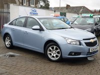 USED 2010 60 CHEVROLET CRUZE 2.0 LS VCDI 4d 124 BHP PLEASE CALL IF YOU CANT SEE WHAT YOU ARE AFTER . WE WILL CHECK OUR OTHER BRANCHES FOR YOU . WE HAVE OVER 100 CARS IN GROUP STOCK