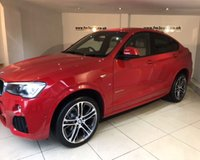 USED 2014 64 BMW X4 XDRIVE20D M SPORT