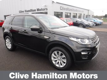 2016 LAND ROVER DISCOVERY SPORT 2.0 TD4 SE TECH 5d 180 BHP 7 SEAT £22995.00