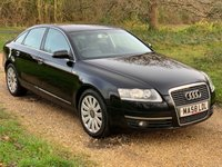 USED 2008 58 AUDI A6 2.0 TDI LIMITED EDITION 4d 140 BHP Air Con, Isofix, 12 Months MOT