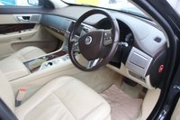 USED 2011 11 JAGUAR XF 3.0 V6 PREMIUM LUXURY 4d AUTO 240 BHP DIESEL BLACK