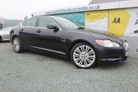 2011 JAGUAR XF 3.0 V6 PREMIUM LUXURY 4d AUTO 240 BHP DIESEL BLACK £8990.00