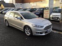 USED 2015 65 FORD MONDEO 2.0 TITANIUM TDCI 5d 177 BHP OUR  PRICE INCLUDES A 6 MONTH AA WARRANTY DEALER CARE EXTENDED GUARANTEE, 1 YEARS MOT AND A OIL & FILTERS SERVICE. 6 MONTHS FREE BREAKDOWN COVER.    CALL US NOW FOR MORE INFORMATION OR TO BOOK A TEST DRIVE ON 01315387070 !! LIKE AND SHARE OUR FACEBOOK PAGE.