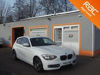 USED 2014 63 BMW 1 SERIES 2.0 116D SPORT 3d 114 BHP Bluetooth, 17 Inch alloys, RAC Inspected Vehicle, Stunning!!!
