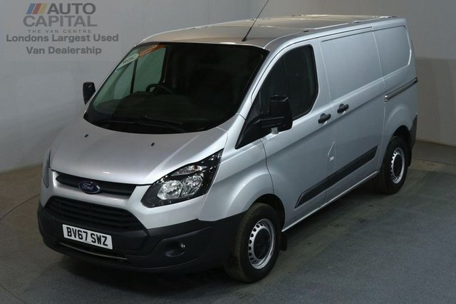 2017 67 FORD TRANSIT CUSTOM 2.0 290 105 BHP SWB L1 H1 AIR CON EURO 6 PANEL VAN  AIR CONDITIONING EURO 6 ENGINE