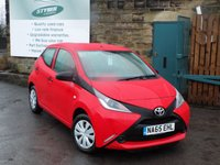 USED 2015 65 TOYOTA AYGO 1.0 VVT-I X 5d 69 BHP One Owner With Full Service History
