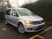 USED 2017 66 VOLKSWAGEN CADDY MAXI 2.0 C20 LIFE TDI DSG AUTO 7 SEATS Air Conditioning, Satellite Navigation, Reverse Camera
