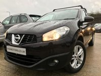 USED 2012 12 NISSAN QASHQAI+2 1.6 ACENTA PLUS 2 5d 117BHP 2KEYS+FSH+GLASS PANORAMIC ROOF