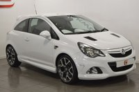 USED 2014 14 VAUXHALL CORSA 1.6 VXR 3d 190 BHP LOW MILES + SERVICE HISTORY + STUNNING IN WHITE + PART EX WELCOME