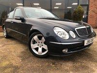 2005 MERCEDES-BENZ E CLASS 2.6 E240 AVANTGARDE 4d AUTO 177 BHP £4495.00