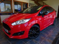 USED 2016 16 FORD FIESTA 1.0 ST-LINE RED EDITION 3d 139 BHP