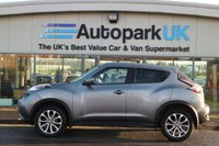 USED 2016 66 NISSAN JUKE 1.2 TEKNA DIG-T 5d 115 BHP LOW DEPOSIT OR NO DEPOSIT FINANCE AVAILABLE