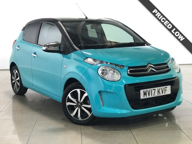 View our 2017 17 CITROEN C1 1.2 PURETECH FLAIR 5d 82 BHP