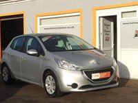 USED 2013 63 PEUGEOT 208 1.4 HDI ACCESS PLUS 5D 68BHP Low Road Tax, Superb Fuel Economy.