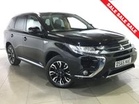 USED 2015 65 MITSUBISHI OUTLANDER 2.0 PHEV GX 3H 5d AUTO 161 BHP 1 Owner/Part Leather/Bluetooth