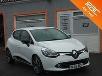 USED 2015 15 RENAULT CLIO 1.5 DYNAMIQUE S MEDIANAV DCI 5d AUTO 90 BHP 1 Owner, 3 Service Stamps, RAC Inspected, Sat Nav