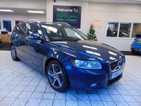 USED 2011 61 VOLVO V50 1.6 DRIVE SE EDITION S/S 5d 113 BHP 1 PRIVATE OWNER + FULL SERVICE HISTORY + BLUETOOTH + XENON LIGHTS + FULL LEATHER HEATED SEATS + REAR PARK SENSORS