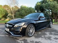 USED 2015 65 MERCEDES-BENZ C CLASS 4.0 AMG C 63 4d AUTO 469 BHP ONE OWNER NEW SHAPE C63 WITH FSH