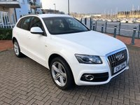 USED 2011 11 AUDI Q5 2.0 TDI QUATTRO S LINE SPECIAL EDITION 5d 168 BHP FULL SERVICE HISTORY! BANG AND OLUFSEN SOUND SYSTEM!