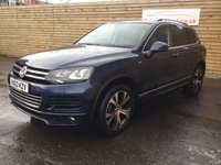 USED 2013 63 VOLKSWAGEN TOUAREG 3.0 V6 R-LINE TDI BLUEMOTION TECHNOLOGY 5d AUTO 242 BHP