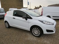 USED 2014 14 FORD FIESTA 1.5 TDCI BASE  VAN ONE OWNER - FSH - ONLY 37000m