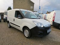 USED 2015 65 VAUXHALL COMBO 2000 L1H1 1.3 CDTI 16v 90 BHP VAN ONE COMPANY OWNER, ONLY 30000m
