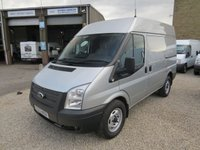 USED 2014 63 FORD TRANSIT 125T 330 2.2TDCI SWB MEDIUM ROOF WORKSHOP VAN WITH AIR-CON ONE OWNER - FSH - ONLY 45000m