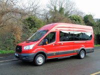 2014 FORD TRANSIT 460 2.2TDCI 124 BHP ECONETIC TECH 18 SEATER LWB HIGH ROOF MINI BUS £13950.00