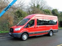 2014 FORD TRANSIT 460 2.2TDCI 124 BHP ECONETIC TECH 18 SEATER LWB HIGH ROOF MINI BUS £13950.00