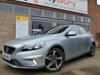 USED 2014 14 VOLVO V40 1.6 D2 R-DESIGN 5d AUTO 113 BHP FULL VOLVO SERVICE HISTORY AUTOMATIC LOVELY CAR THROUGHOUT