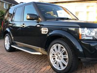 USED 2011 61 LAND ROVER DISCOVERY 4 3.0 SDV6 HSE AUTO 255 BHP 7 SEATER 5 DR ESTATE SATNAV+PRIVACY+TRIPLE ROOF