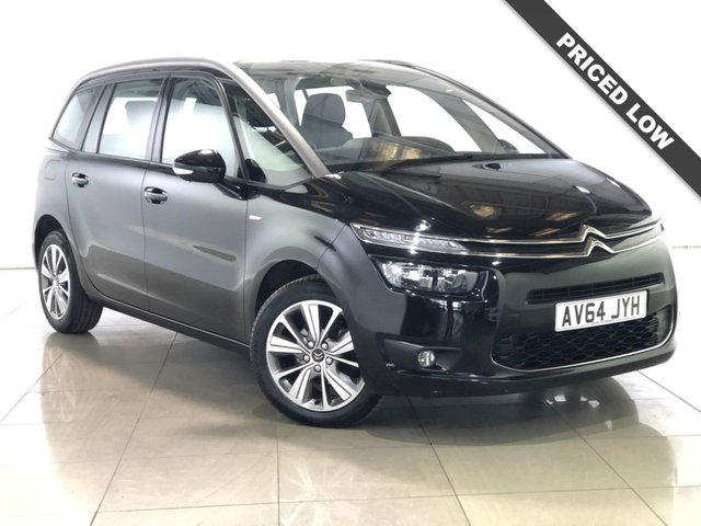 View our 2014 64 CITROEN C4 GRAND PICASSO 1.6 E-HDI AIRDREAM EXCLUSIVE 5d 113 BHP